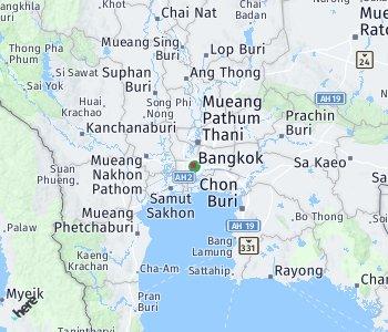 Area of taxi rate Bangkok