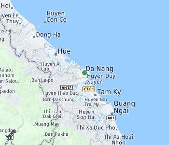 Area of taxi rate Da Nang