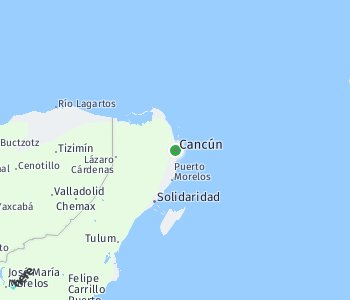 Area of taxi rate Cancun
