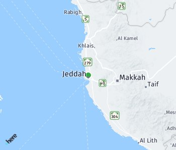 Area of taxi rate Jeddah