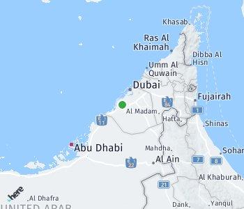 Area of taxi rate Dubai