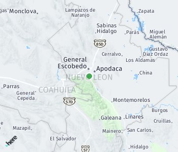 Area of taxi rate Monterrey