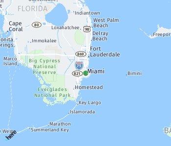 <?php echo Lage des Taxitarifgebietes Miami; ?>