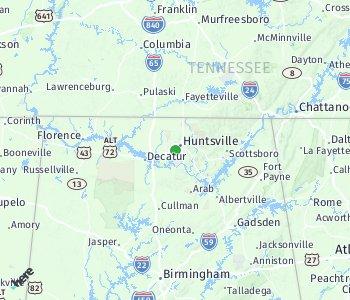 Area of taxi rate Huntsville