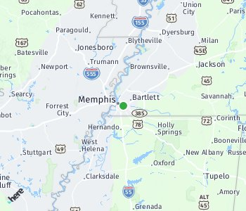 Area of taxi rate Memphis