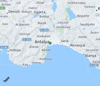 <?php echo Lage des Taxitarifgebietes Antalya; ?>
