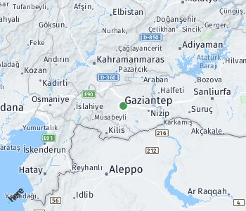 Area of taxi rate Gaziantep