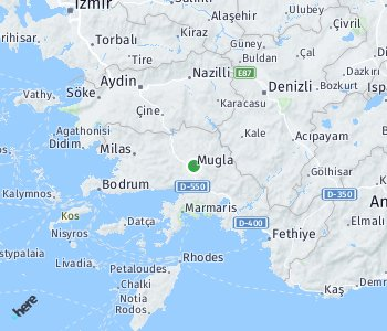 <?php echo Area of taxi rate Mugla; ?>