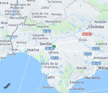 Area of taxi rate Sevilla
