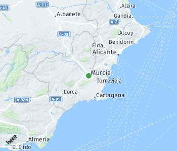 <?php echo Area of taxi rate Murcia; ?>