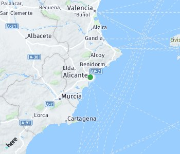<?php echo Area of taxi rate Alicante; ?>