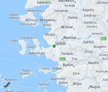 Area of taxi rate Izmir