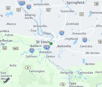 Area of taxi rate St. Louis
