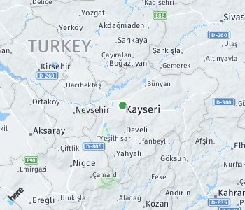 Area of taxi rate Kayersi