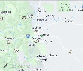 Area of taxi rate Denver