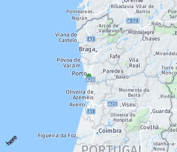 Area of taxi rate Porto