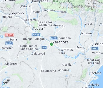 Area of taxi rate Saragossa