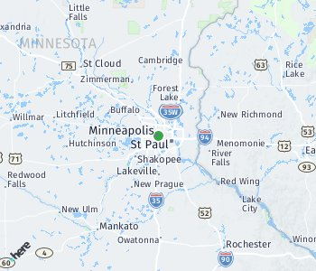 Area of taxi rate Minneapolis