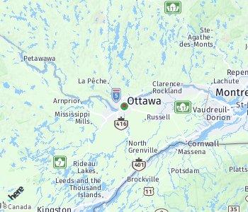 Area of taxi rate Ottawa