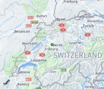 Area of taxi rate Bern