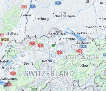 <?php echo Lage des Taxitarifgebietes Zürich; ?>