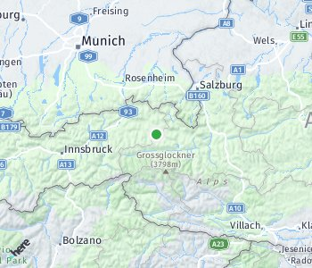 Area of taxi rate Berchtesgadener Land