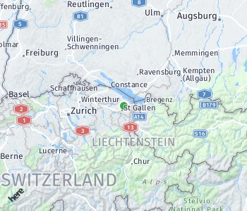 Area of taxi rate St. Gallen