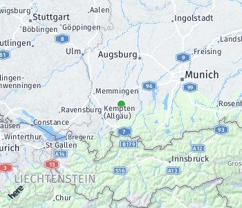 Area of taxi rate Kaufbeuren