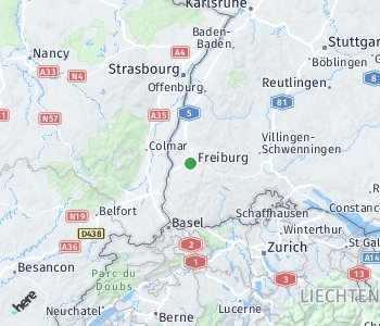 Area of taxi rate Fribourg
