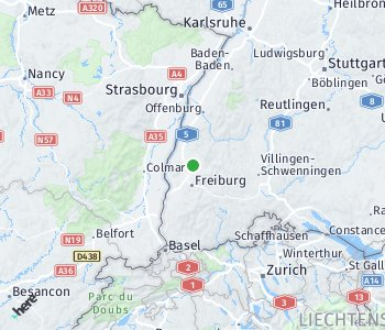 Area of taxi rate Emmendingen