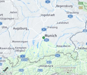 Area of taxi rate Munich