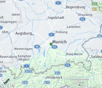 <?php echo Lage des Taxitarifgebietes München; ?>