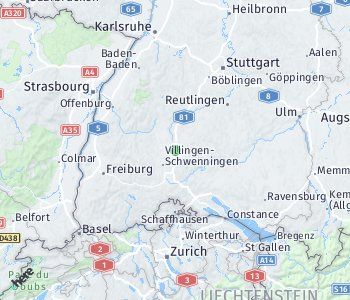 Area of taxi rate Rottweil