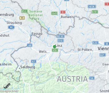Area of taxi rate Linz