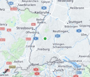 Area of taxi rate Schwarzwald-Baar
