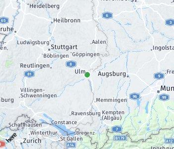 Area of taxi rate Neu-Ulm