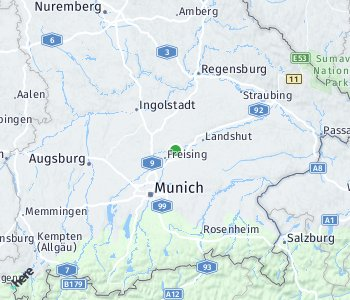 Area of taxi rate Freising