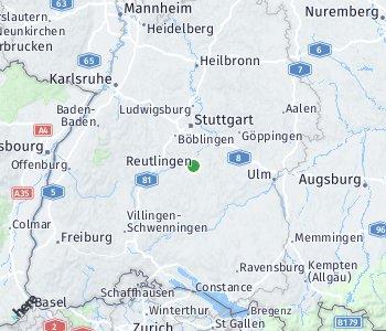 <?php echo Area of taxi rate Reutlingen; ?>