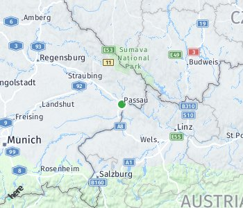 Area of taxi rate Passau