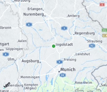 Area of taxi rate Ingolstadt