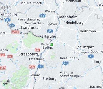 Area of taxi rate Rastatt