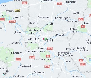 Area of taxi rate Montreuil