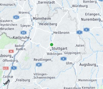 Area of taxi rate Ludwigsburg