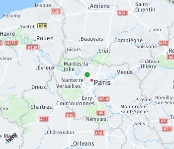 Area of taxi rate Argenteuil
