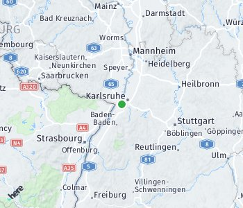 Area of taxi rate Forchheim