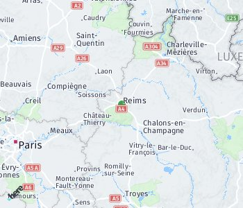 Area of taxi rate Reims