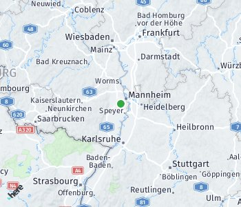 Area of taxi rate Rhein-Pfalz Kreis