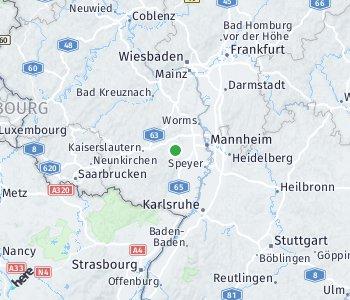 Area of taxi rate Bad Dürkheim