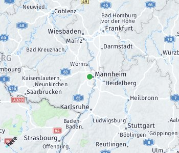 Area of taxi rate Ludwigshafen