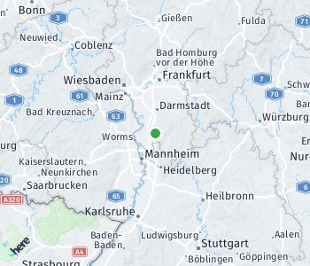 Area of taxi rate Bensheim